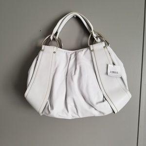 Kooba White Leather Large Bag NEW NWT